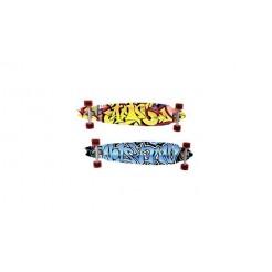 Longboard Skateboard 91cm Assorti