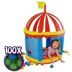 Bestway  Opblaasbaar fort met 100 ballen
