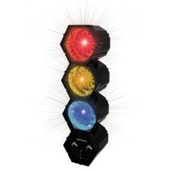 Partyfunlights Disco lichtorgel (3 spots)
