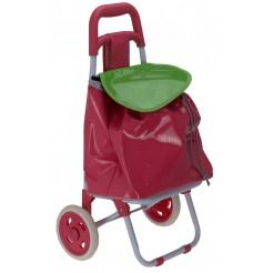 Kinderboodschappenwagen (rose)