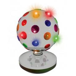 Partyfunlights Disco lamp 20cm (chroom)