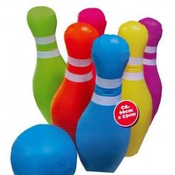 Opblaas bowlingset (7 delig)