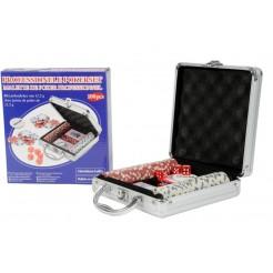 Pokerset (100 delig) in aluminium koffer