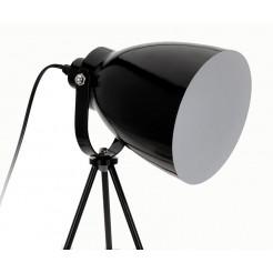Tafellamp op 3 poten (zwart)