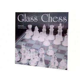 Glazen schaakspel 25x25cm