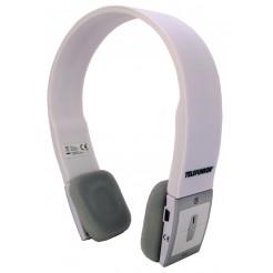 Telefunken Bluetooth stereo koptelefoon met microfoon (wit)
