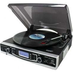 Soundmaster Platenspeler (33/45/78) met radio, USB en kaartlezer
