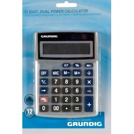 Grundig Calculator met dubbele voeding, 12 cijfers
