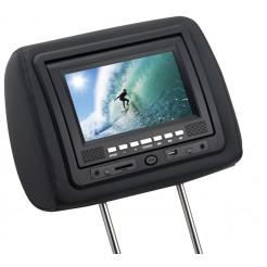 Grundig Hoofdsteun met DVD-speler en afstandsbediening