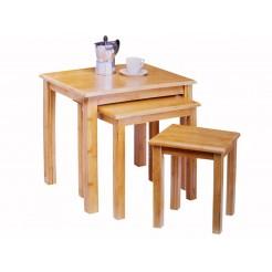 Bijzet-tafels (set van 3)
