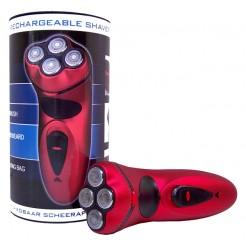 4-Kops oplaadbaar scheerapparaat (rood)