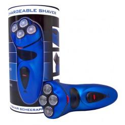 4-Kops oplaadbaar scheerapparaat (blauw)