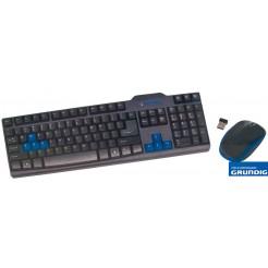 Grundig 2,4 GHZ Draadloze toetsenbord- muisset
