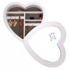 Juwelen / sieradenkast (hart-design)