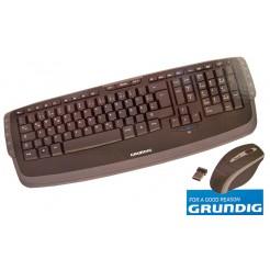 Grundig 2.4 GHZ Draadloos multimediatoetsenbord met muis