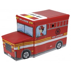 Opvouwbare opbergbox en zitje (brandweer)