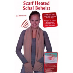 Verwarmde sjaal (beige)