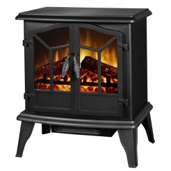 Classic Fire Elektrische sfeerhaard Narvik (zwart)