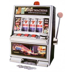 Fruit-apparaat / spaarpot  Las Vegas (30cm)